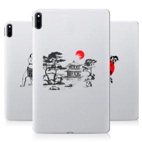 Дизайнерский силиконовый чехол для Huawei MatePad Прозрачная япония