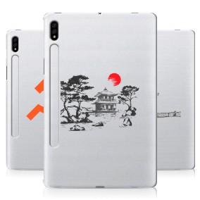 Дизайнерский силиконовый чехол для Samsung Galaxy Tab S7 Города