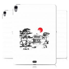 Дизайнерский силиконовый чехол для Ipad Air (2020) Прозрачная япония