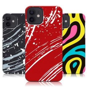 Дизайнерский пластиковый чехол для Iphone 12 Абстракции