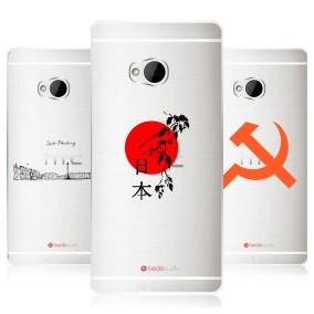 Дизайнерский пластиковый чехол для HTC One (M7) Dual SIM Города