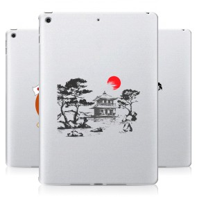 Дизайнерский силиконовый чехол для Ipad 10.2 (2021) Прозрачная япония