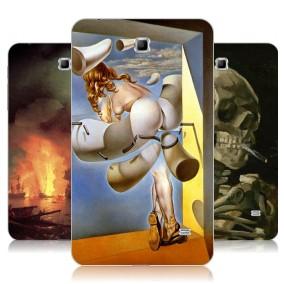 Дизайнерский силиконовый чехол для Samsung GALAXY Tab 4 7.0 Живопись