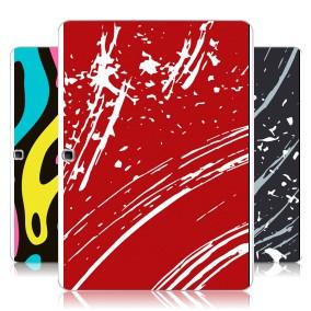 Дизайнерский силиконовый чехол для Samsung Galaxy Tab 4 10.1 Абстракции