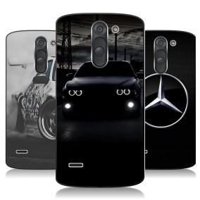 Дизайнерский пластиковый чехол для LG G3 Stylus Автомобили