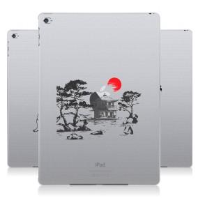 Дизайнерский пластиковый чехол для Ipad Air 2 Прозрачная япония