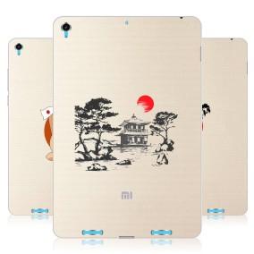 Дизайнерский силиконовый чехол для Xiaomi MiPad Прозрачная япония