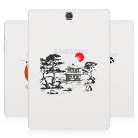 Дизайнерский силиконовый чехол для Samsung Galaxy Tab A 9.7 Прозрачная япония