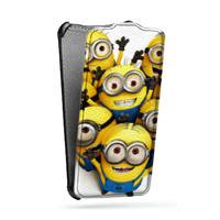 Дизайнерский вертикальный чехол-книжка для Samsung Galaxy S5 (Duos) Фильмы