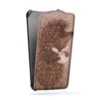 Дизайнерский вертикальный чехол-книжка для Samsung Galaxy S4 Mini  Креативные