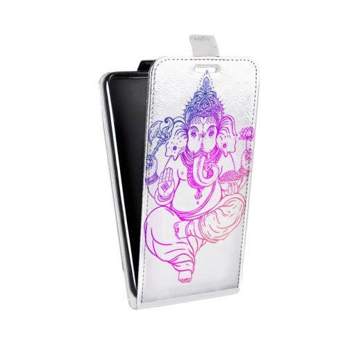 Дизайнерский вертикальный чехол-книжка для LG K7 Йога дизайн