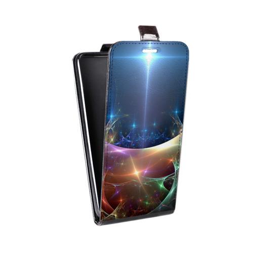 Дизайнерский вертикальный чехол-книжка для Samsung Galaxy S6 Edge Абстракции Дым