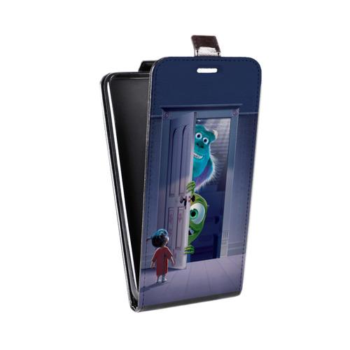 Дизайнерский вертикальный чехол-книжка для Sony Xperia Z3 Корпорация монстров