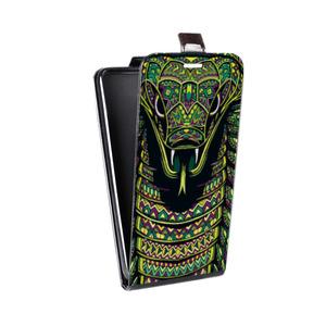 Дизайнерский вертикальный чехол-книжка для HTC Desire 816 Мистика
