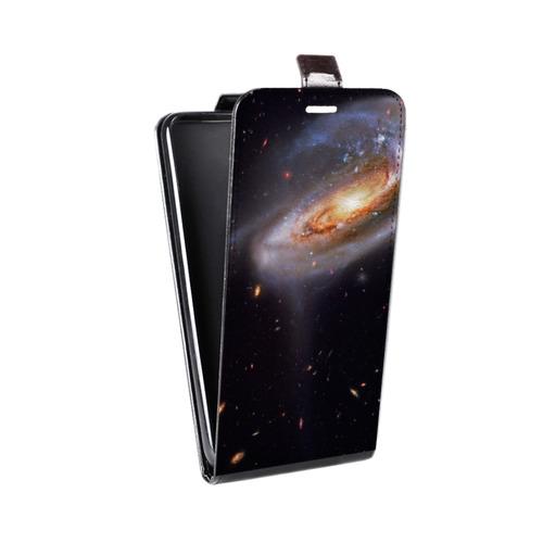 Дизайнерский вертикальный чехол-книжка для Samsung Galaxy S6 Edge Звезды