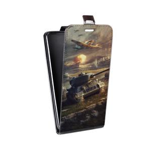 Дизайнерский вертикальный чехол-книжка для Samsung Galaxy A7 Игры