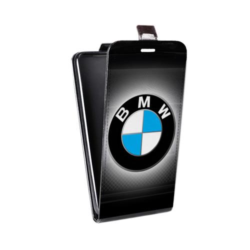 Дизайнерский вертикальный чехол-книжка для Samsung Galaxy S6 Edge BMW