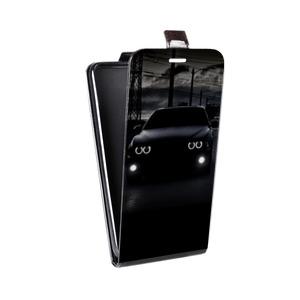 Дизайнерский вертикальный чехол-книжка для HTC One (M8) Автомобили
