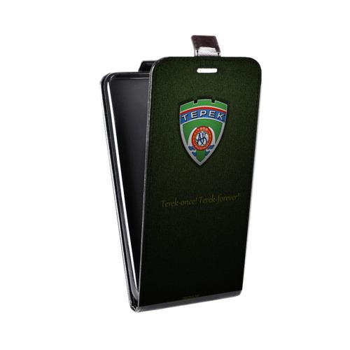 Дизайнерский вертикальный чехол-книжка для LG K7 Терек