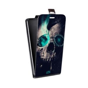 Дизайнерский вертикальный чехол-книжка для HTC One (M8) Мистика